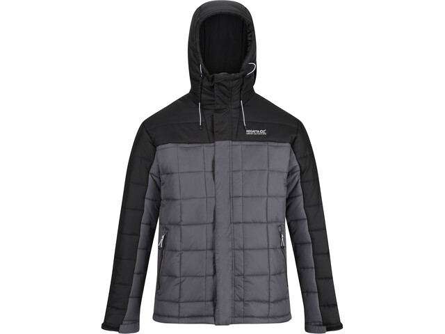 Regatta Nevado IV Chaqueta Hombre, gris/negro